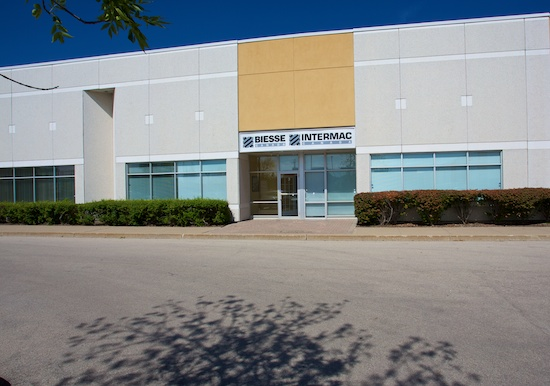 Biesse And Intermac Canada New Showroom Offices Opening