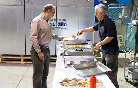 Taurus Craco Machinery hosts 'Breakfast is on us' - Woodworking Canada