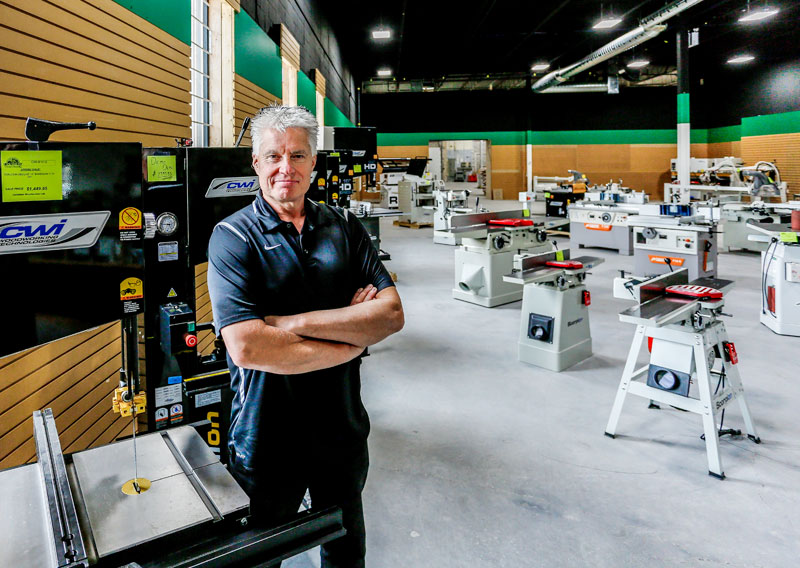 Canadian Woodworker Ltd Expands East Opens Toronto Store